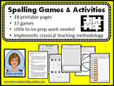 Spelling Games and Activities