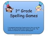 Spelling Games for 1st Grade