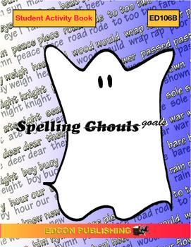 Spelling Ghouls Goals Lesson 5, j sound words, spelled g, gi, ge, or dge