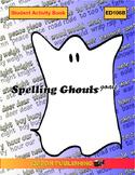 Spelling Ghouls Goals Lesson 9, regular, irregular plurals; cardinal, ordinal