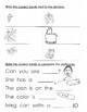 Spelling Grade 1. Book 2 e-words.