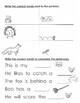 Spelling Grade 1, Book 3 o-words