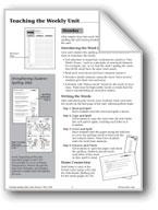 Spelling: Grade 4 Teaching Unit/Dictation/Master Word List
