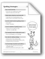 Spelling: Grade 5 and 6 Spelling Strategies/How to Study