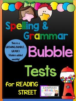 Reading Street Spelling & Grammar Supplementary Resource (