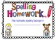 Spelling Homework Booklet