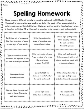 spelling homework grids freebie by second grade smiles tpt. Black Bedroom Furniture Sets. Home Design Ideas