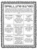 Spelling Homework Packet (UPDATED and EDITABLE)