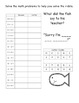 Spelling Homework - Texas Treasures Unit 3 {First Grade}