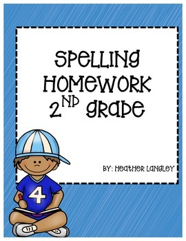 Sitton Spelling Homework 2nd Grade