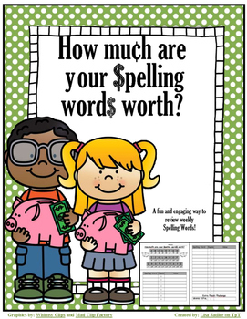 Spelling - How Mu¢h Are Your $pelling Word$ Worth?