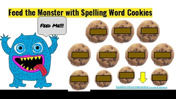 Spelling Interactive Choice Board