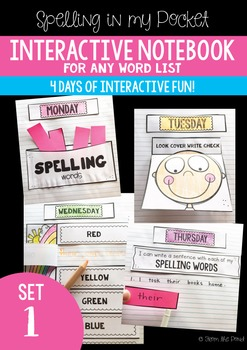 Spelling Interactive Notebook