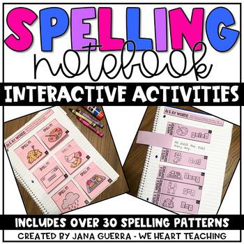 Spelling Interactive Notebook #lastday