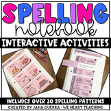 Spelling Interactive Notebook #12DAYS