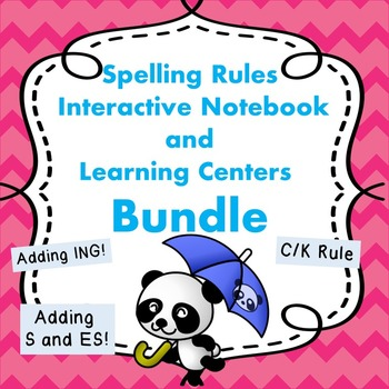 Adding Suffixes and C/K Rules Spelling Activities and Printables BUNDLE