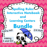 Adding Suffixes and C/K Rules Spelling Activities and Prin