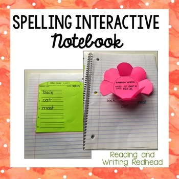 Spelling Interactive Notebook for Primary Grades