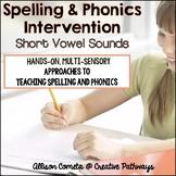 Spelling Strategies-Elkonin Boxes and Letter Tiles