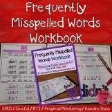 Spelling Intervention Workbook-Frequently Misspelled Words (K-8)