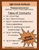 Spelling Intervention Workbook- First Grade Sight Words Book 1