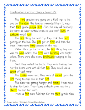 Spelling - Irregular ir and ur - 3rd Grade