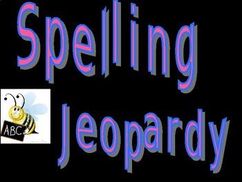 Spelling Jeopardy