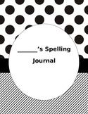 Spelling Journal - Editable!