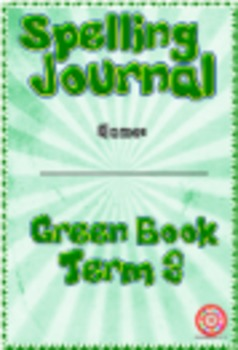 Spelling Journals for Age 6 pupils - Elementary-Class.com