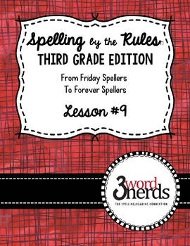 Spelling - Just Add Rule ~ Consonant Suffixes - Third Grade