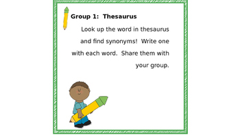 Spelling Learning Stations - Printable - task cards - use with any words