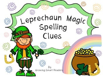 Spelling: Leprechaun Magic Spelling Clues
