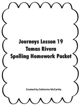 Spelling Lesson 19
