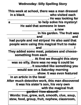 Spelling Lesson 23 Homework packet StoryTown Grade 2