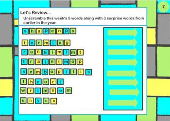 Spelling Lesson 9