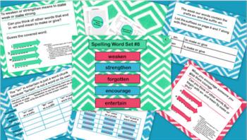 Spelling Lessons 6-10 Bundle
