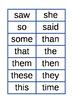 Spelling List 1 Flash Cards