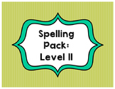 Spelling List Pack: Level II