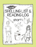 Spelling List - Short i