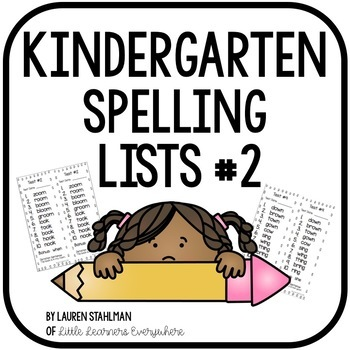 Spelling Lists #2