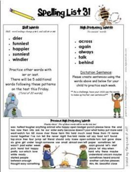 Spelling Lists That Make Sense-Second Grade
