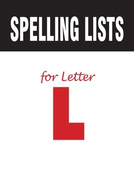 Spelling Lists for Consonant L