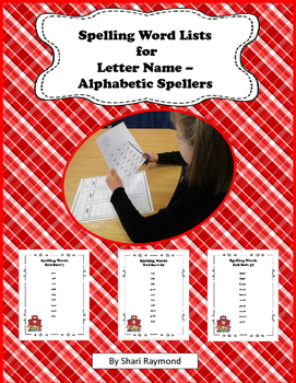 Spelling Lists for Red Word Sorts 7-50