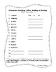 Spelling Lists (only) for Third Grade