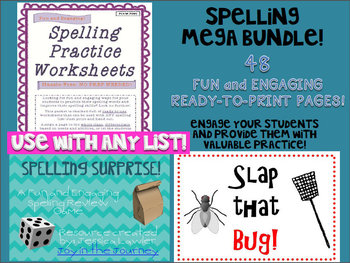 Spelling MEGA Activity Packet