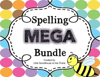 Spelling Practice MEGA Bundle