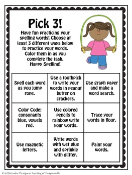 Spelling Made Fun: Multi-Sensory Activities