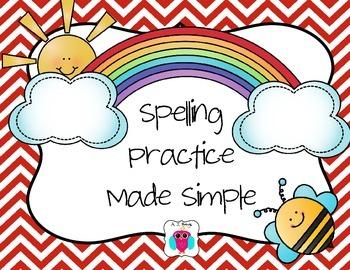 Spelling Practice Made Simple