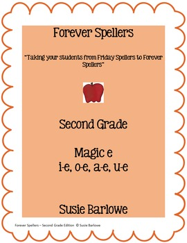 Spelling - Magic e for i-e, o-e, a-e, u-e - 2nd Grade