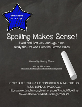 Spelling Makes Sense - Hard and Soft  and